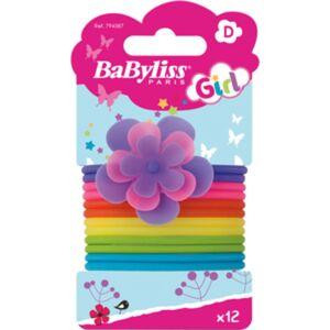 BaByliss Hårelastikker Gummi - 12 stk
