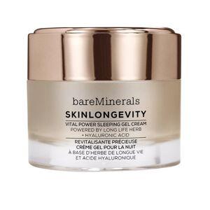 bareMinerals Skinlongevity Vital Power Sleeping Gel Cream Transparent