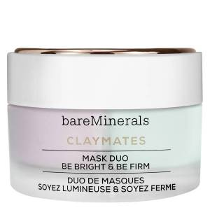BareMinerals ClayMates Mask Duo: Be Bright & Be Firm 58g