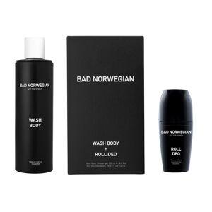 Bad Norwegian Gavesett Wash Body + Roll Deo
