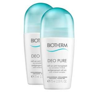 Biotherm Duo Sleeve Deo Pure Roll-On Set 2x75ml