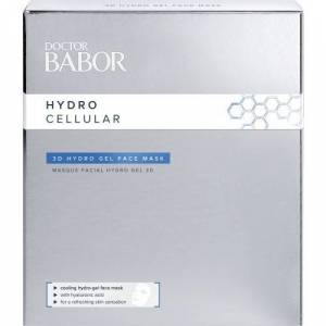 Babor Doctor Babor Hydor Cellular 3d Hydro Gel Face Mask 4x2st