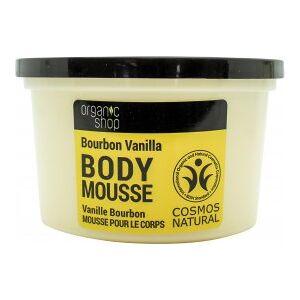 Organic Shop Bourbon Vanilla & Orchid Body Mousse 250ml