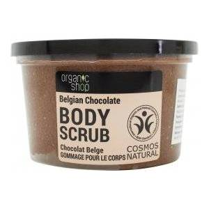 Organic Shop Belgian Chocolate Cocoa & Sugar Body Scrub 250ml