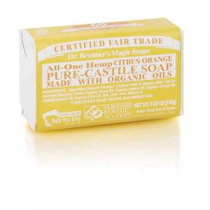 Dr. Bronner's Magic Soaps Dr. Bronner's Citrus Bar Soap Eko 140 g
