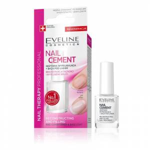 Eveline Nail Therapy Nail Cement Conditioner & Base Coat 12 ml Nagellack