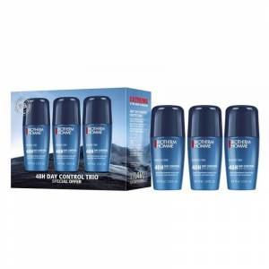 Biotherm Homme 48H Day Control Roll On Deo Trio 3 x 75 ml Deodorant