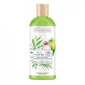 Bielenda Eco Nature Micellar Water Coconut Water & Green Tea & Lemon Grass 500 ml Sminkborttagning