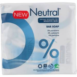 Neutral Fast tvål 2 x 100 g Handtvål