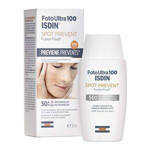 FotoUltra Isdin ISDIN Foto Ultra 100 Spot Prevent Fotoprotector Facial Fluido (SPF 50+) 50 ml