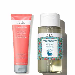 REN Clean Skincare The Cleanse & Tone Kit