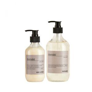 Meraki valuepack, bodywash/bodylotion, Silky Mist