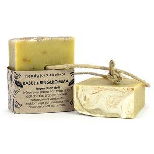 Malin i Ratan Handgjord Ekotvål Rasul & Ringblomma - Utan parfym, 170 g