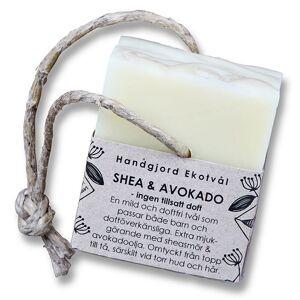 Malin i Ratan Handgjord Ekotvål Shea & Avokado - Utan parfym, 170 g