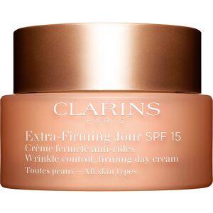 Clarins Köp Clarins Extra-Firming Jour SPF15 for All Skin Types, All Skin Types SPF15 50 ml Clarins Dagkräm fraktfritt
