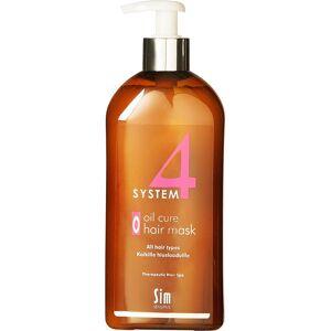 SIM Sensitive Köp SIM Sensitive System 4 Oil Cure Hair Mask, Oil Cure Hair Mask O All Hair Types 500 ml SIM Sensitive Hårinpackning fraktfritt