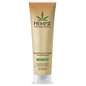 Apple Hempz Sandalwood & Apple Herbal Body Scrub 265ml