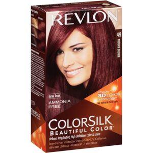 Colorsilk Permanent Haircolor 49 Auburn Brown 1 stk Hårfarve
