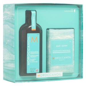 Moroccanoil Cleanse And Syle Duo Self Care Kit