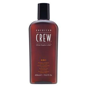 American Crew Classic 3 In 1 Shampoo, Conditioner & Body Wash Herre 450ml