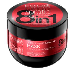 Eveline Keratin Color & Repair Mask 300 ml Hårmaske