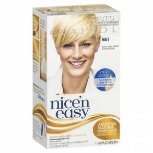 Clairol Nice 'n' Easy SB1 Natural Light Summer Blonde 1 stk Hårfarge