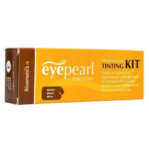 Intensive Vippe & Brynsfarge Brown Kit