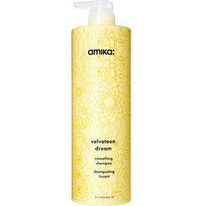 amika Velveteen Dream Smoothing Shampoo (1000ml)