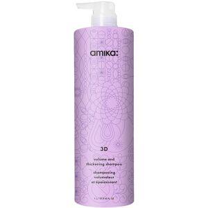 Amika 3D Volumizing and Thickening Shampoo, 1000 ml Amika Shampoo