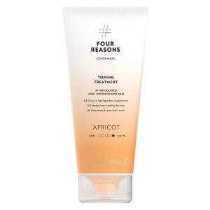 Four Reasons Color Mask Toning Treatment Apricot 200 ml