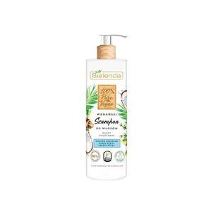 Bielenda 100% Vegan Pure Shampoo For Damaged Hair 400 ml Schampo