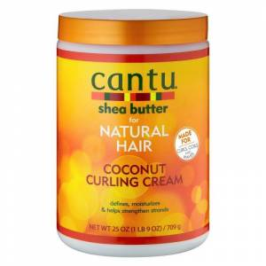 Cantu Shea Butter For Natural Hair Coconut Curling Cream 709 g Lockkräm
