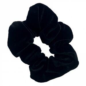 Bangerhead Velvet Scrunchies Black