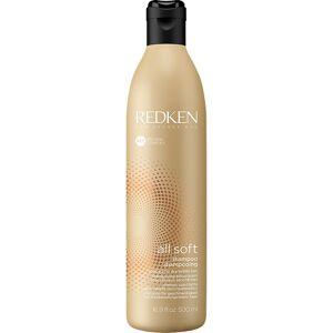 Redken Köp Redken All Soft Shampoo,  500ml Redken Shampoo fraktfritt