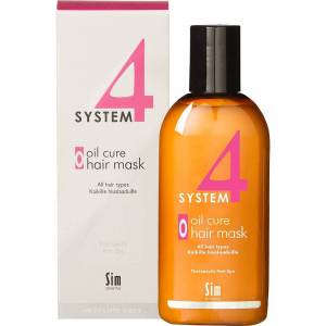SIM Sensitive Köp SIM Sensitive System 4 Oil Cure Hair Mask, Oil Cure Hair Mask O All Hair Types 215 ml SIM Sensitive Hårinpackning fraktfritt