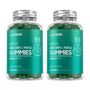 maxmedix Gummibjörnar för Hår, Hud & Naglar - Vitaminer För Hår, Hud & Naglar - 60 st. - ShytoBuy SE - 2-pack
