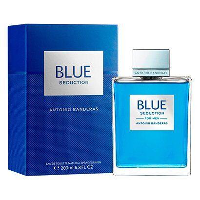Antonio Banderas Perfume Masculino Blue Seduction EDT 200ml - Masculino