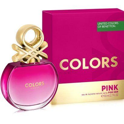 Benetton Perfume Feminino Colors Pink EDT 80ml - Feminino