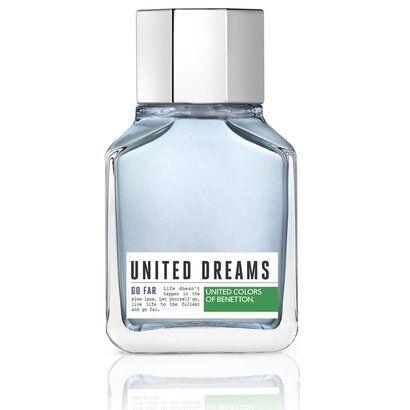 Benetton Perfume Masculino United Dreams Go Far EDT 100ml - Masculino