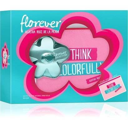 Kit Perfume Feminino Agatha Ruiz de La Prada Florever EDT 80ml + Ncessaire - Feminino
