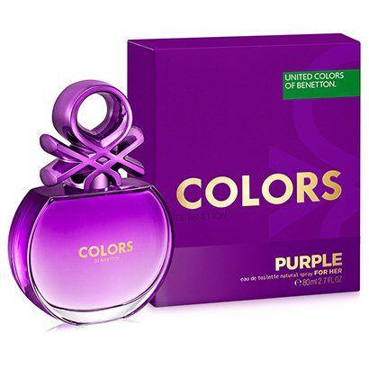 Perfume Colors Purple Feminino Benetton EDT 80ml - Feminino