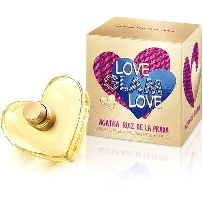 Agatha Ruiz de La Prada Perfume Feminino Love Glam Love EDT 30ml - Feminino-Incolor