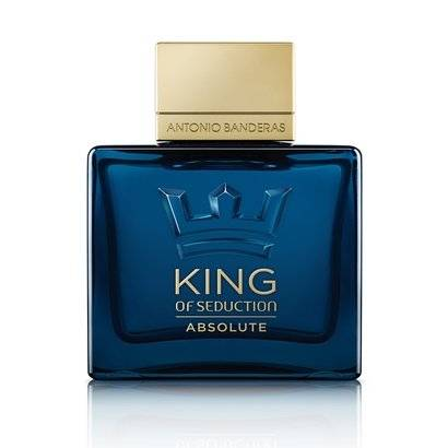 Antonio Banderas Perfume Masculino King Of Seduction Absolute EDT 100ml - Masculino-Incolor