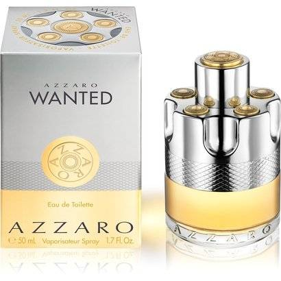 Azzaro Perfume Masculino Wanted EDT 50ml - Masculino-Incolor