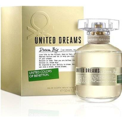 Benetton Perfume Feminino Dream Big Edition EDT 50ml - Feminino-Incolor