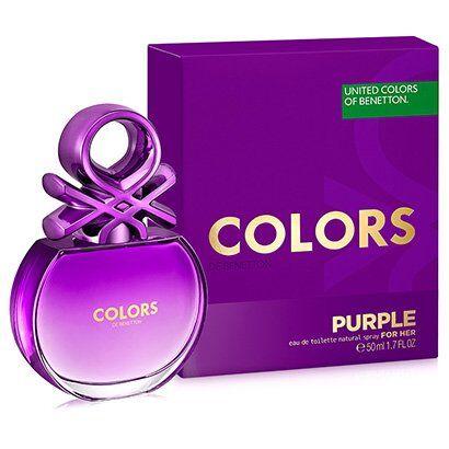 Perfume Colors Purple Feminino Benetton Eau de Toilette 50ml - Feminino-Incolor