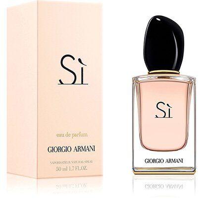 Perfume Sì Giorgio Armani Feminino EDP 50ml - Feminino-Incolor