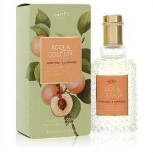 4711 Acqua Colonia White Peach & Coriander by 4711 - Eau De Cologne Spray (Unisex) 50 ml - til kvinder
