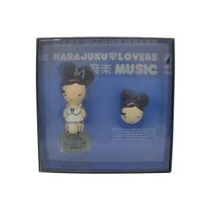 Gwen Stefani Harajuku Lovers Music Lahjasetti 30ml EDT + 1.2g Kiinteä hajuvesi