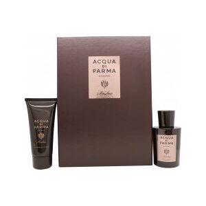 Acqua di Parma Colonia Ambra Gift Set 100ml EDC + 75ml Shower Gel